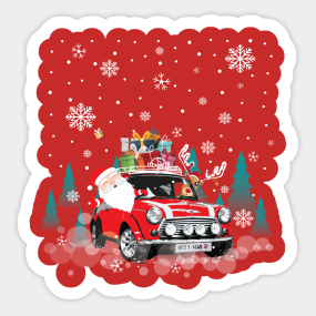 Classic Mini Vintage Mini Car Stickers Teepublic