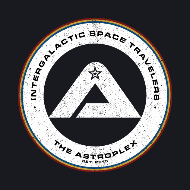 The Astroplex '80s Logo