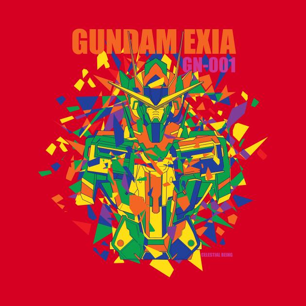 Exia with broken shape color