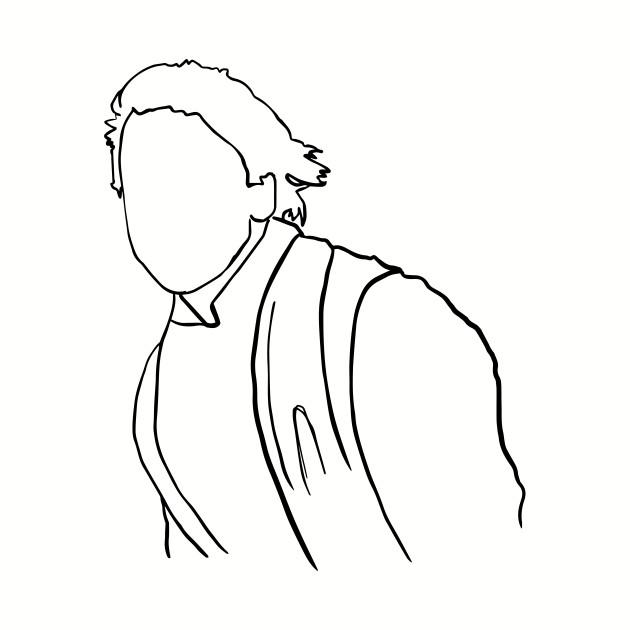 Luke Skywalker Jedi Knight Outline