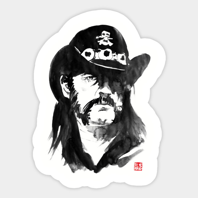 Lemmy Cowboy Skull Motor Head Adult Hoodie