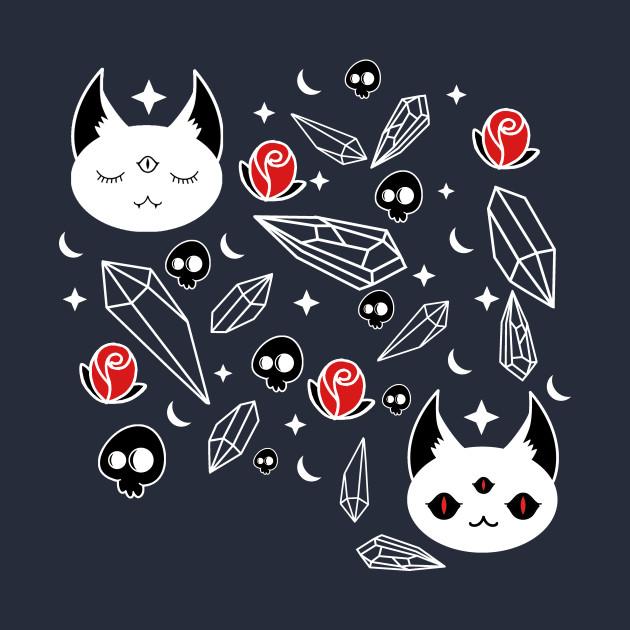 Cats, Crystals, Skulls and Stars oh my!