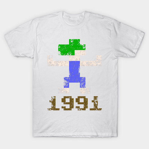 Lemmings 1991 T-Shirt-TOZ