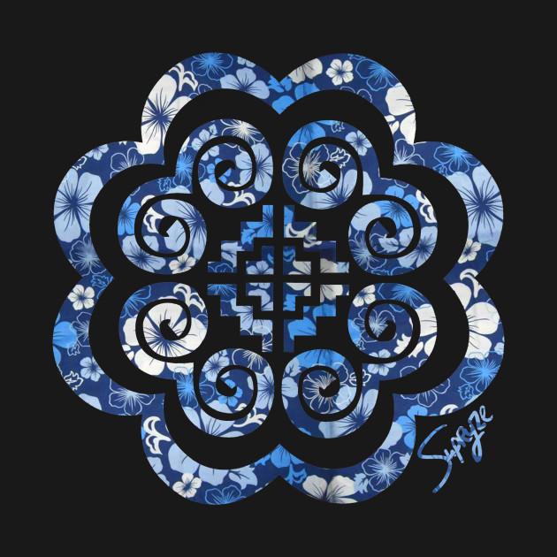 slight Blue Floral