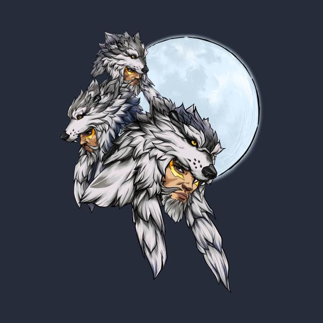 3b6f1453158 Three Wolf Moon - Hanzo - Overwatch - Kids T-Shirt