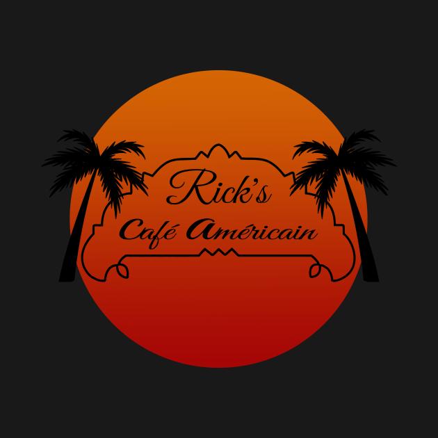 Rick's Cafe Americain sunset