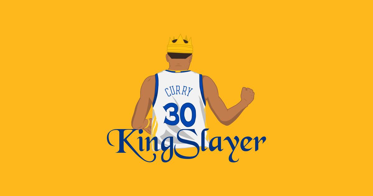 Kingslayer Steph Curry Sticker Teepublic