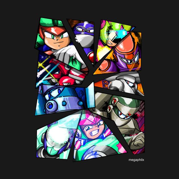 Mega Man Unlimited 3rd Anniversary Robot Masters