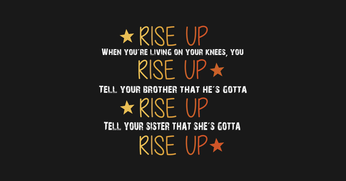 15d71f79 Hamilton Musical Quote. Rise Up. T-Shirt