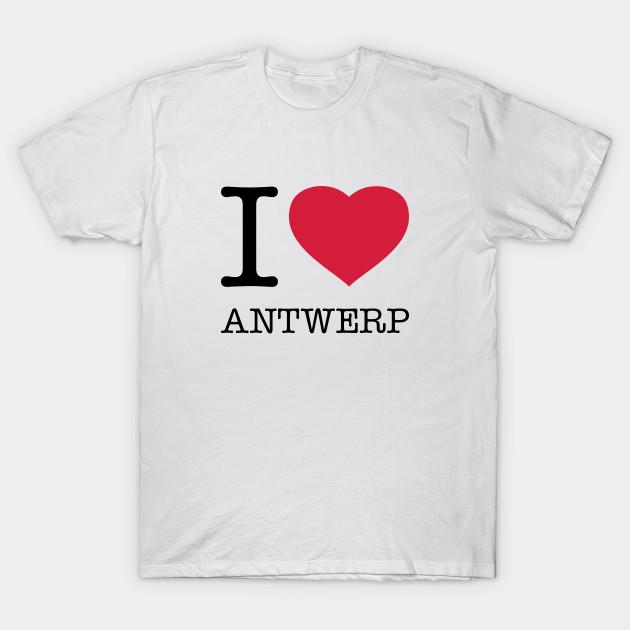 I Love Heart Antwerp T-Shirt