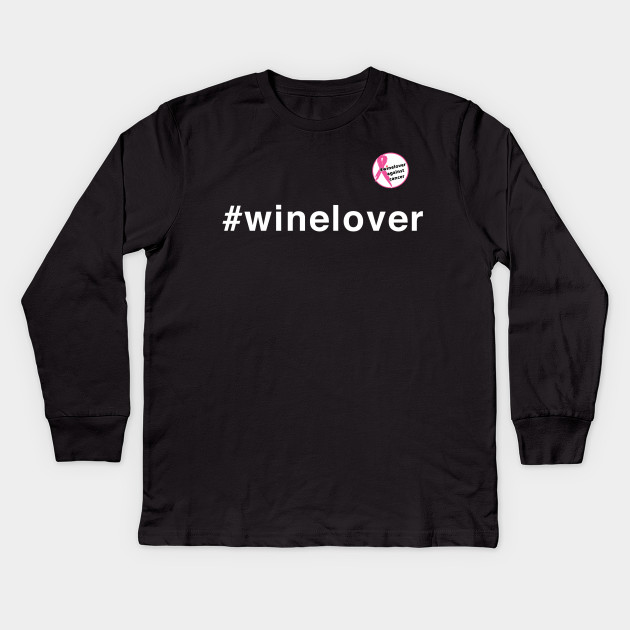 #winelover against cancer pin