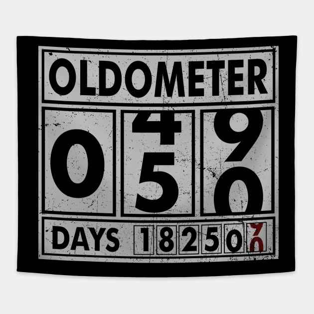 50c91b3b OLDOMETER 50 Years Old Made In 1968 50th Birthday - Oldometer 50 ...