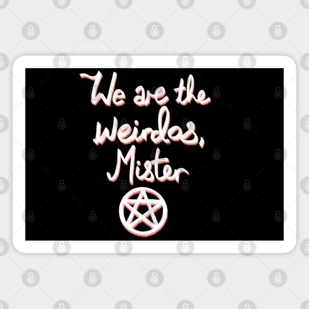 Weirdos with a pentagram