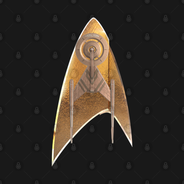 Star Trek Discovery Badge N Ship
