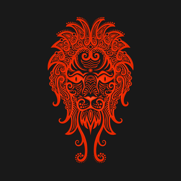 Image result for leo zodiac sign in red