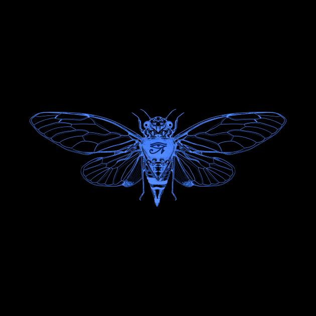 Cicada Eye Of Ra