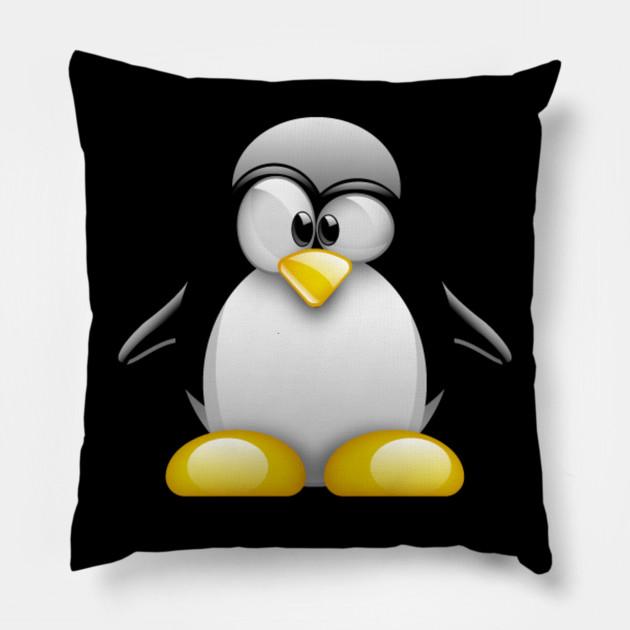 Penguin Gift Ideas Pillow Teepublic