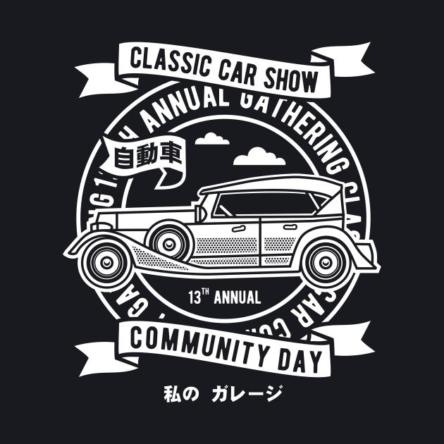 Classic Car Show Community Day