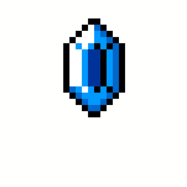 8-bit blue rupee dance