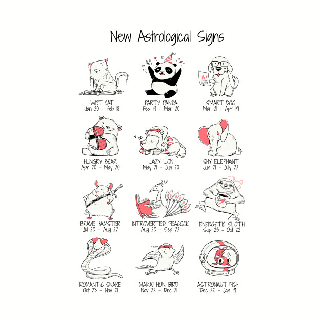 New Astrological Signs