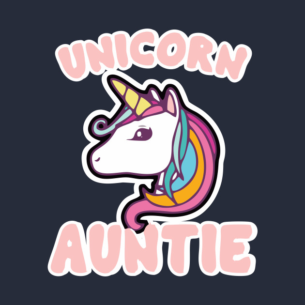 d5d2888b8f4 Unicorn Auntie TShirt Unicorns Lover Auntie Family Gift - Unicorn ...