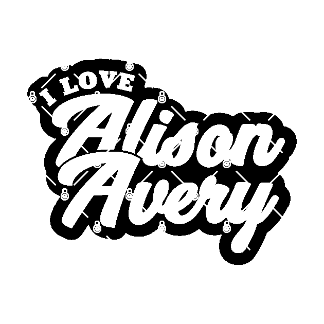 I Love Alison Avery Alison Avery Sticker Teepublic Au Verruca are highly vascular so easily bleed, the black dots you see are tiny blood capillaries. teepublic