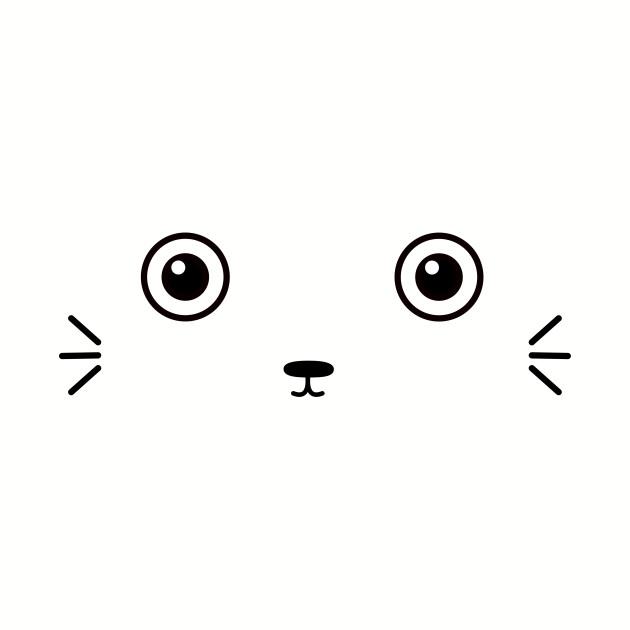 Cute Kawaii Face T-Shirt