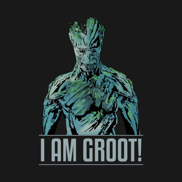 I Am Groot I AM GROOT - Groot - T...