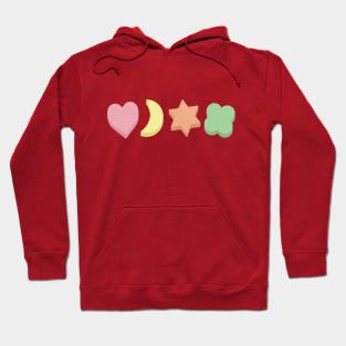 Lucky Crop Hoodie St Patrick/'s Day Party Goer Outfit Loose Bottom Hem Sweatshirt Horseshoe Print Idea Luck Hoodie
