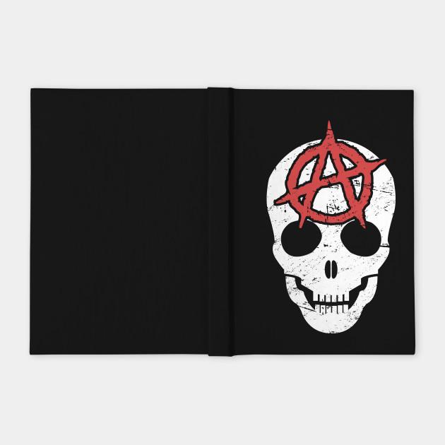 Distressed Anarchy Skull | Punk Rock