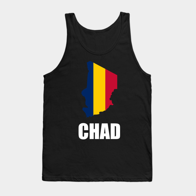 d668be47ccc247 Chad African Nation - Country Government - Tank Top