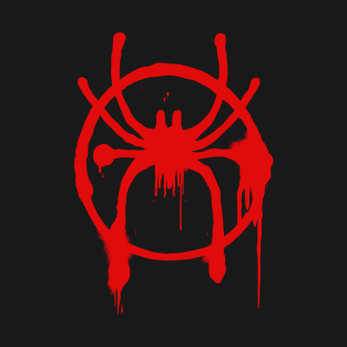 8a881609 Spider-Man - Into The Spider-Verse - Spray paint logo T-Shirt