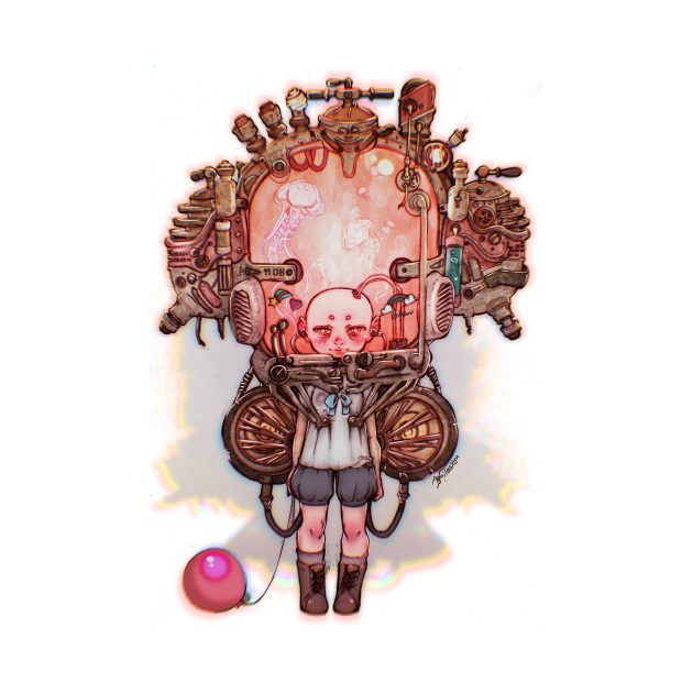 bionic little girl