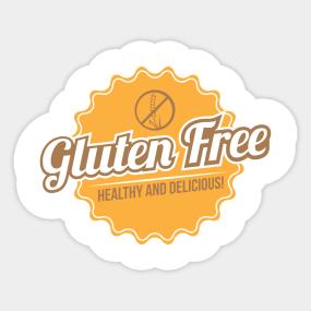 Wheat Free Stickers | TeePublic