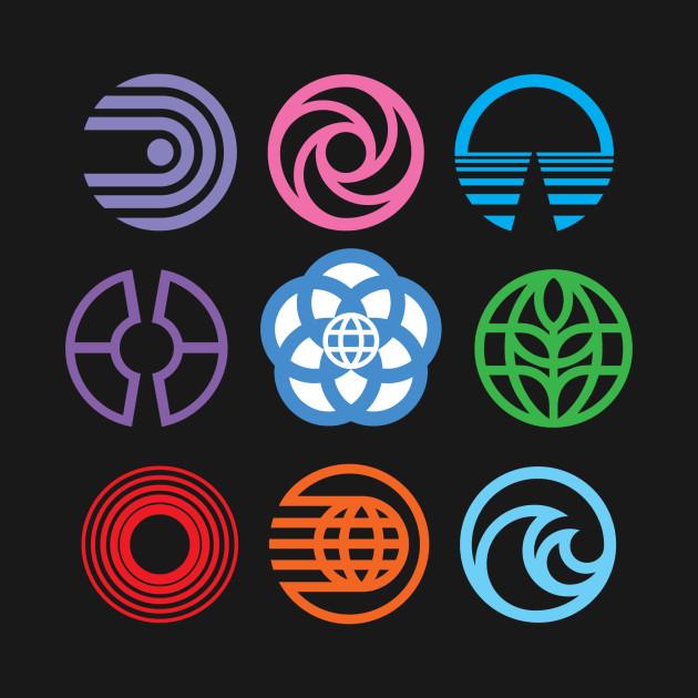 The Symbols of EPCOT