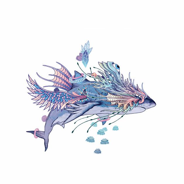 Journeying Spirit (Shark)