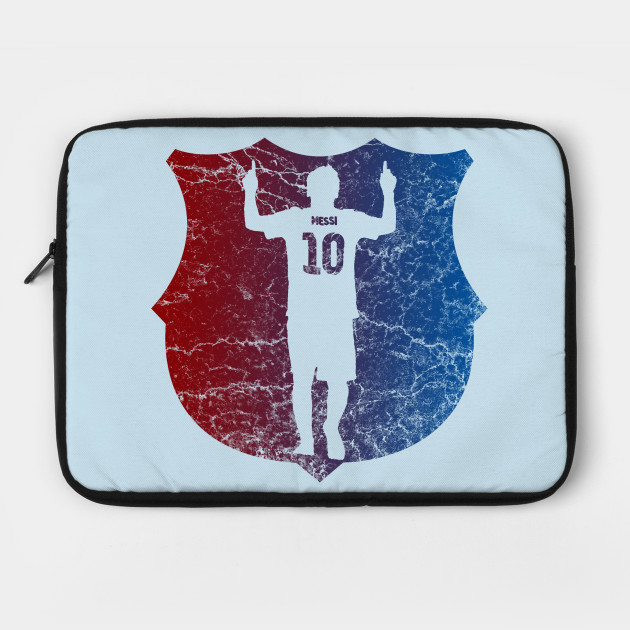 Messi Barcelona Colors Barcelona Laptop Case Teepublic