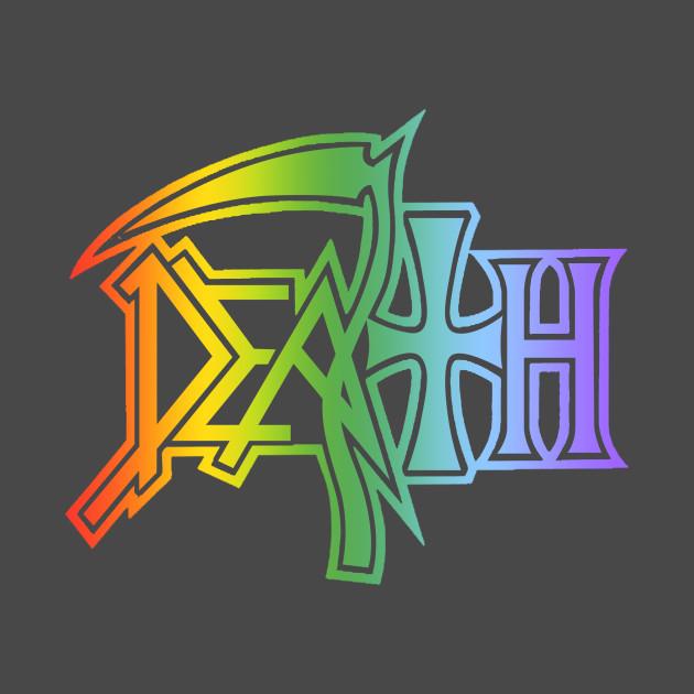 Death logo in baby colors - Death - T-Shirt   TeePublic