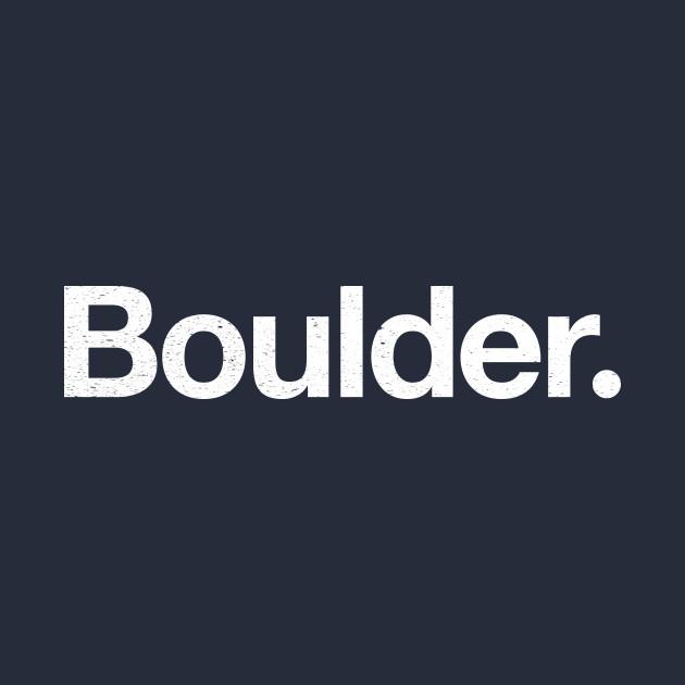 Boulder.