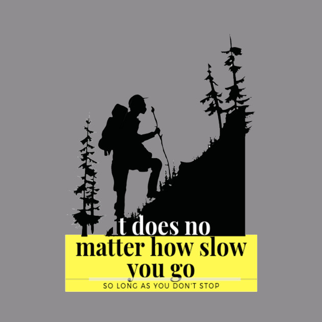 it does no matter how slow you go, so long as you dont stop