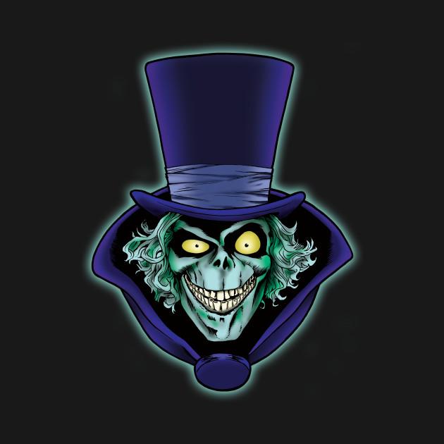 The Hatbox Ghost Haunted Mansion T Shirt Teepublic