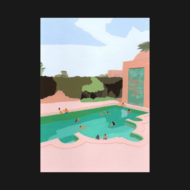 Backyard dip