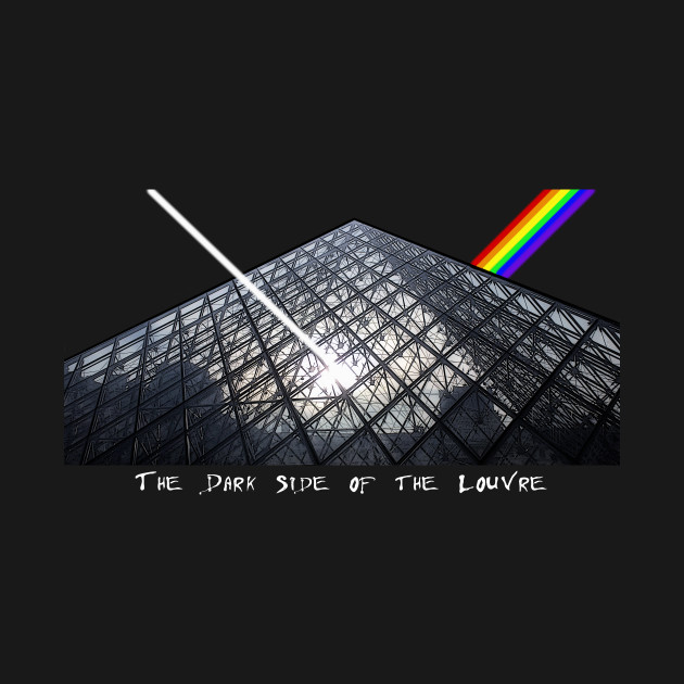 The Dark Side of the Louvre (black)