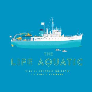 The Life Aquatic with Steve Zissou t-shirts