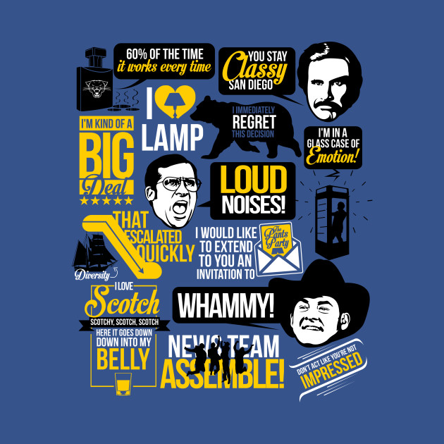 Anchorman Quotes | Blue
