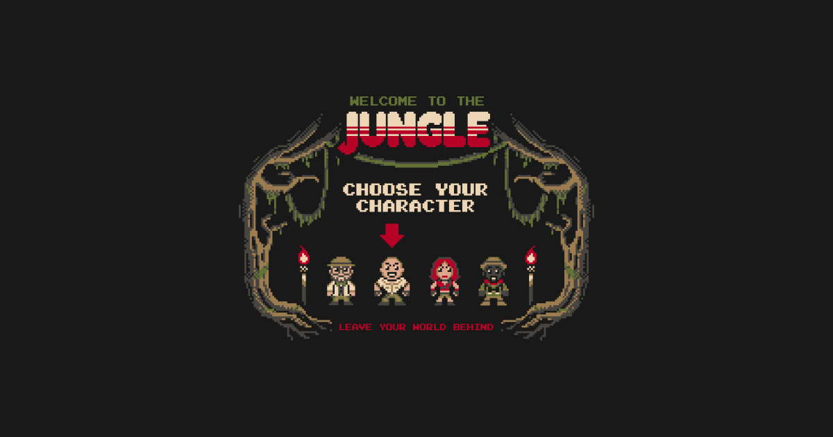 7cbfacc7 Welcome to the jungle T-Shirt