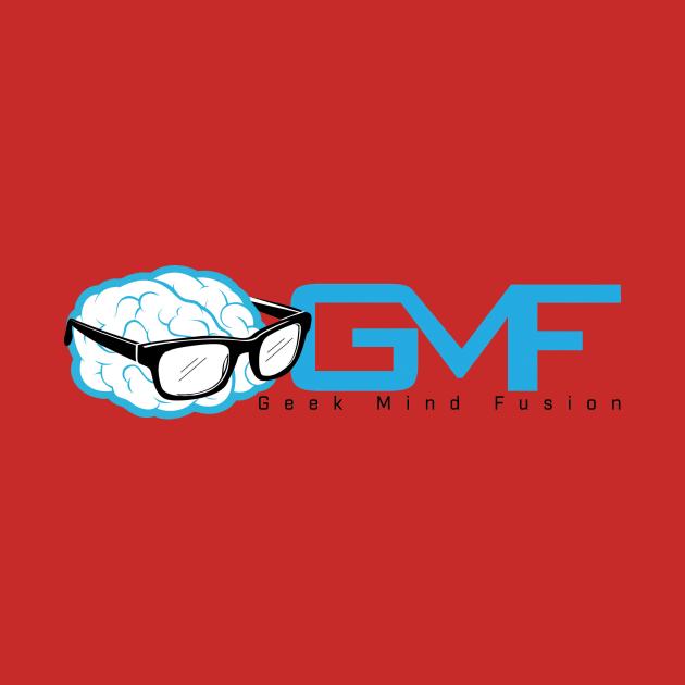 Geek Mind Fusion Logo Horizontal (Light Colors)