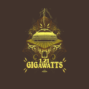 Back to the Future 1.21 Gigawatts Vintage t-shirts