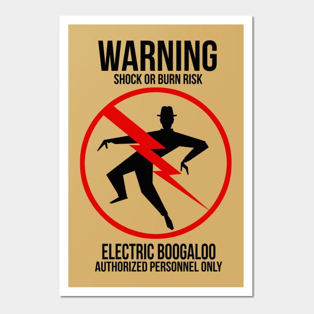 Electric Shock Hazard - Dedos - Wall Art | TeePublic