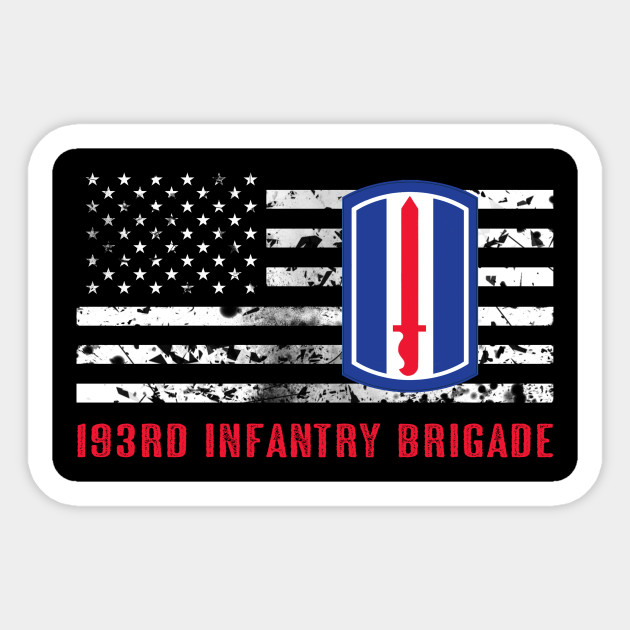 193rd Infantry Brigade patch